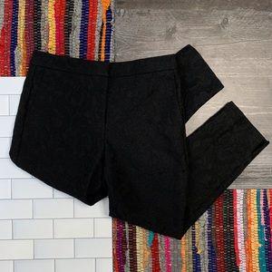 Ann Taylor Black Lace Trousers